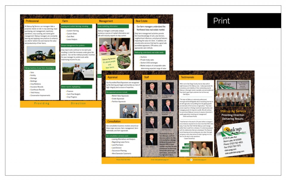 Agency Two Twelve Designed a site function lists current auctions  - Best Designed Websites Northwest Iowa