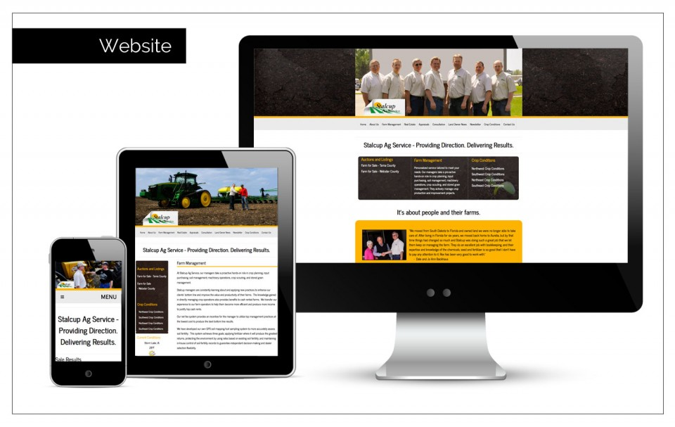 Best Designed Websites Northwest Iowa - site function lists current auctions by Agency Two Twelve - Marketing, Communications and Public Relations firm in Sioux Center, Iowa