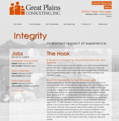 Great Plains Consulting