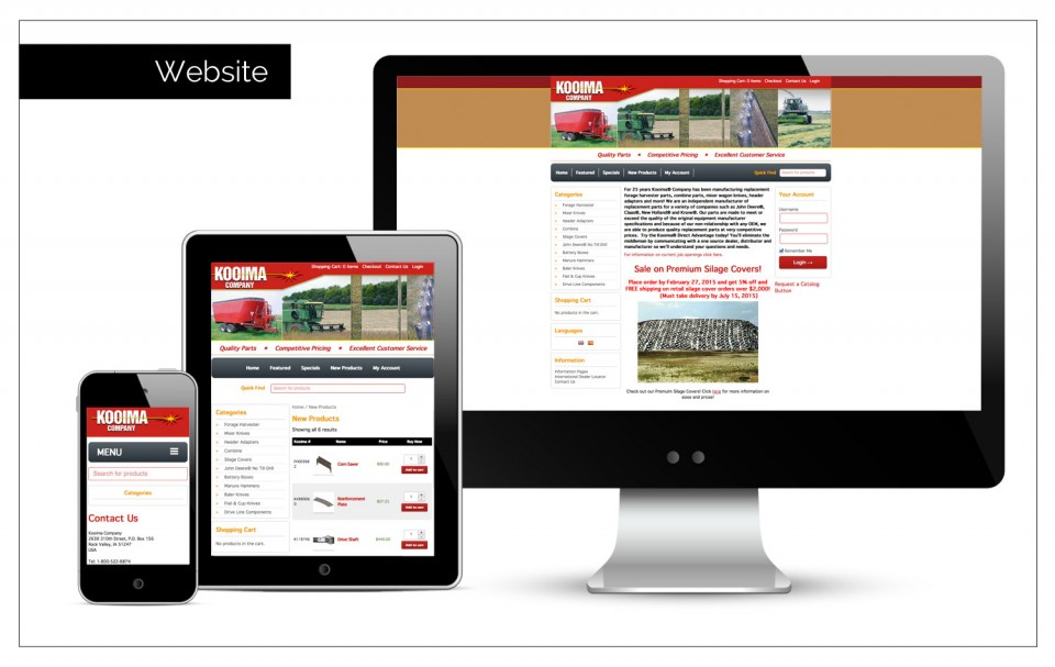 Web Design Rock Valley - Agency Two Twelve works with the companies in Rock Valley, Iowa