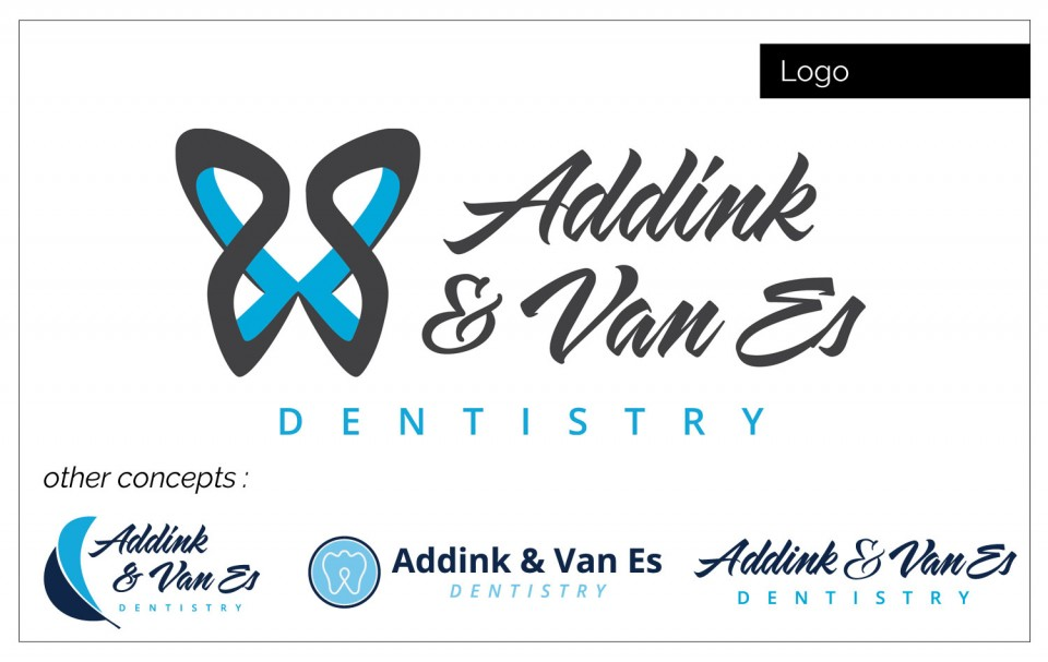 Graphic Design Agency Northwest Iowa - Agency Two Twelve develop a logo identity for Addink and Van Es Dentistry