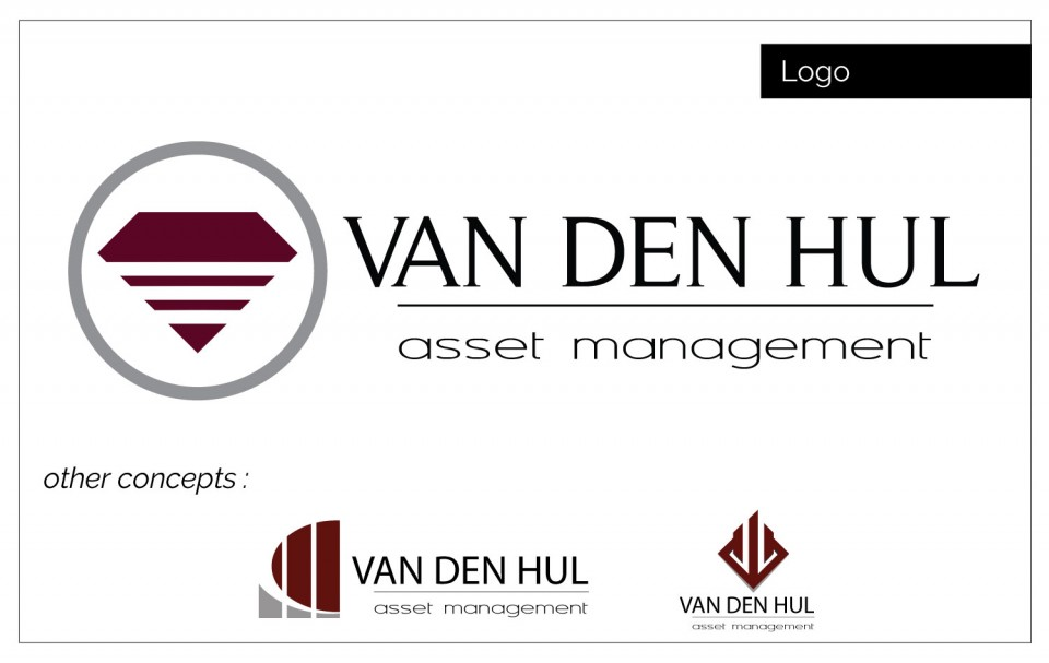 Van Den Hul's diamond shape logo