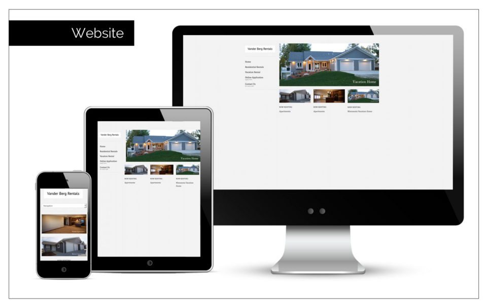 Agency Two Twelve designs a website to get the word out - Website Design Sioux Center