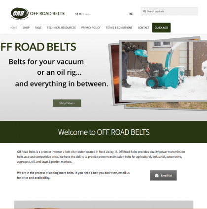 Off Road Belts, LLC