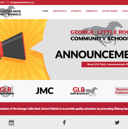 George-Little Rock Community Schools