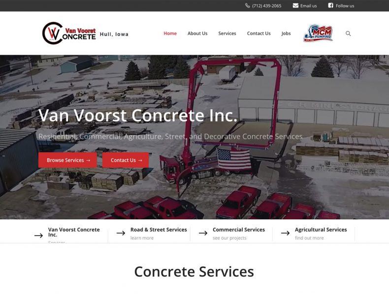 Van Voorst Concrete & MCM Pumping